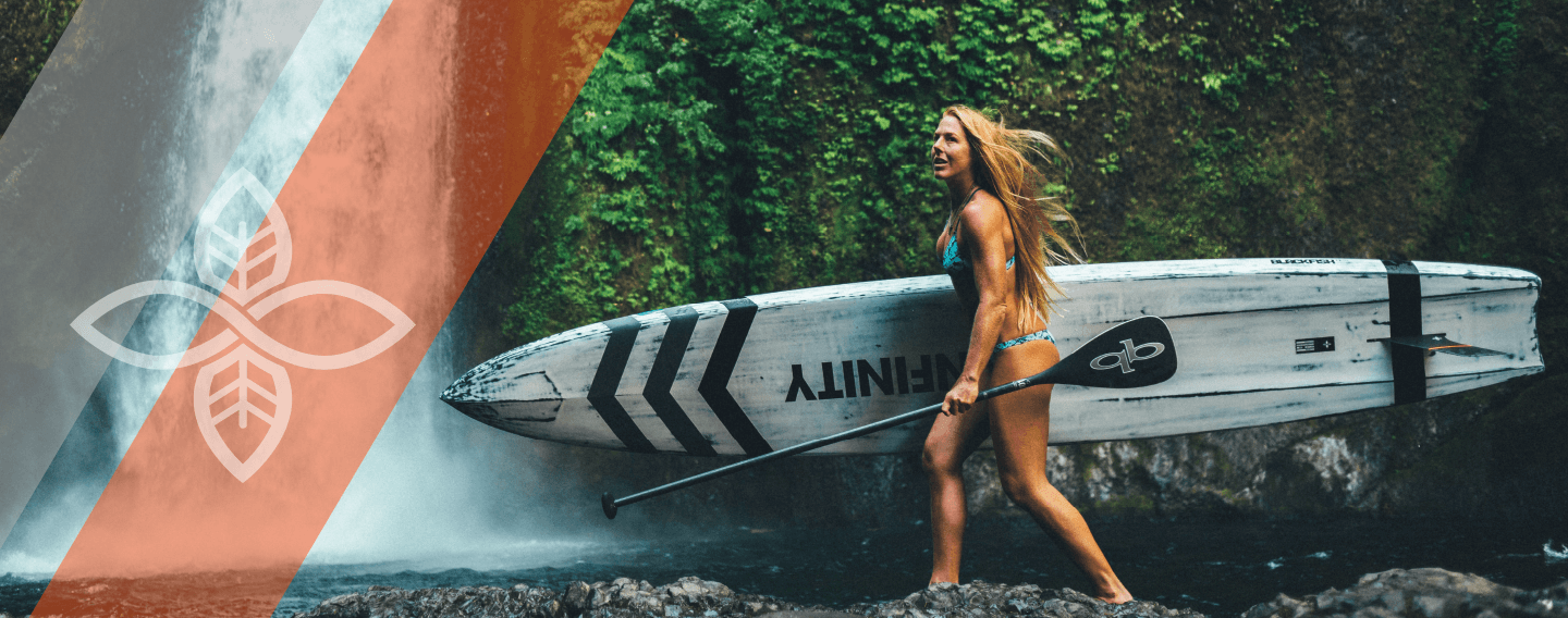 Candice Appleby Infinity SUP athlete