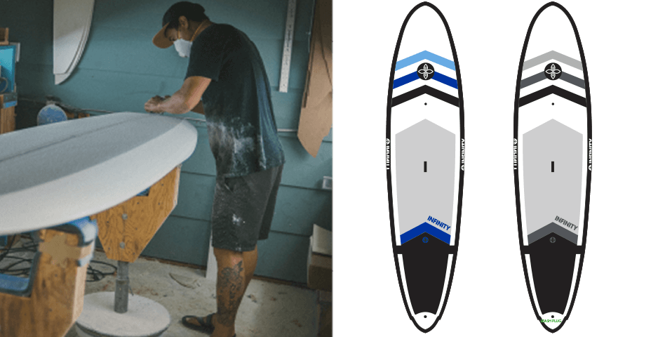 New Deal SUP Surf Infinity Boards