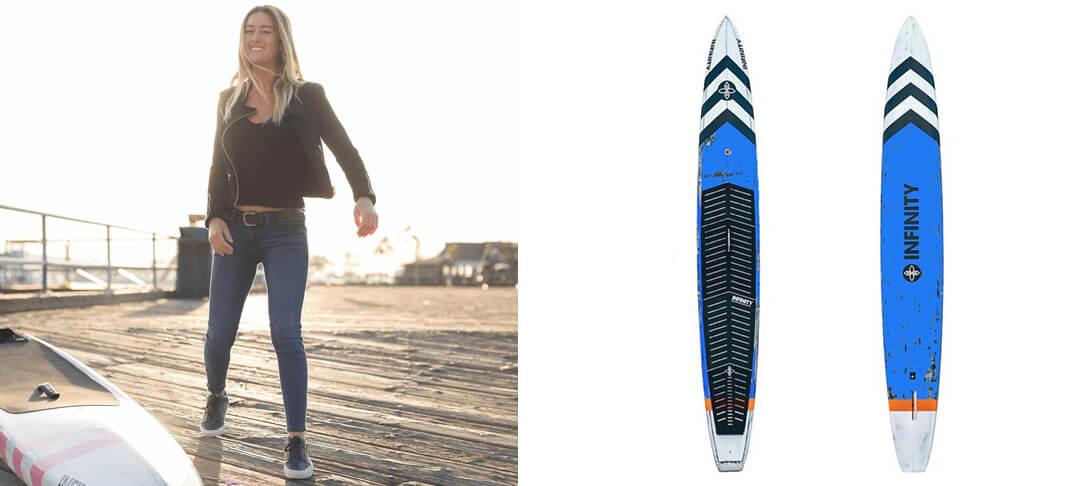 Blackfish SUP Race Boards - Infinity Custom SUP Boards
